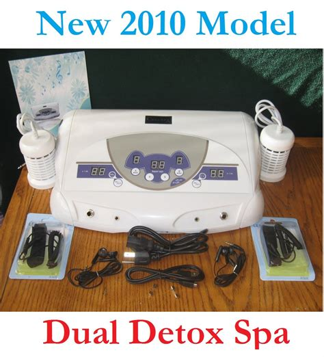 Does Aqua Chi Foot Detox Work by New Dual Ion Detox Foot Bath Cell Aqua Chi Spa Ionic