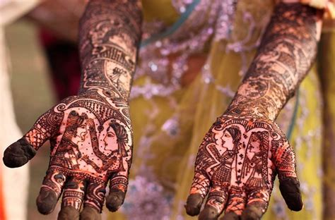 henna tattoo in indian culture indian bridal henna beautylish