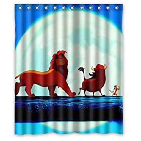 lion king curtains com lion king walking on the bridge pattern