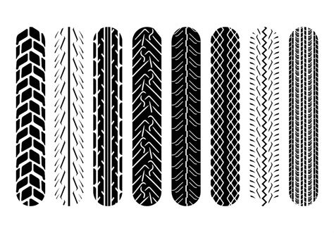 Motorradreifen Profil by Motorcycle Tire Marks Free Vector Stock