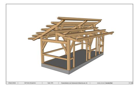 Timber Frame Shed Design by Timber Frames Vermont Timber Frame Company Timberhomes
