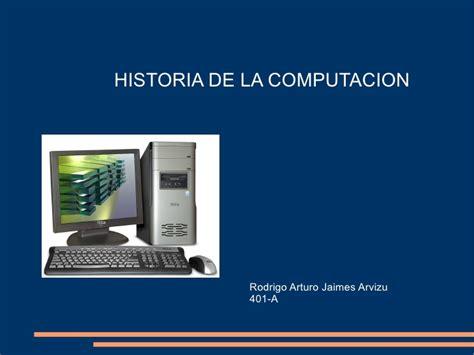 historia de la seleccia n 8416306419 historia de la computacion