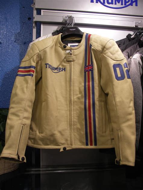 Triumph Motorrad Lederjacke by Triumph Motorcycle Leather Jacket Patches Cairoamani