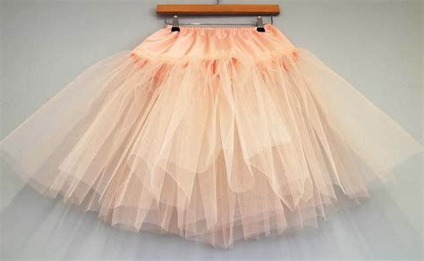 simple underskirt pattern diy tutorial multi layered tulle petticoat make your own