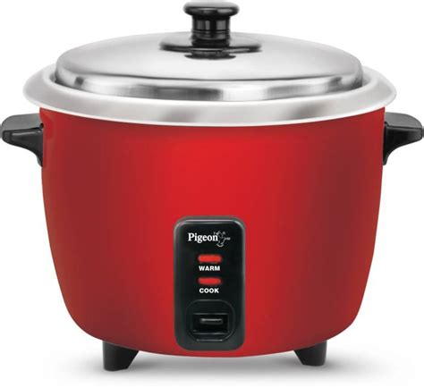 Quantum Rice Cooker 3 In 1 Pigeon Electric Rice Cooker With Steaming Feature Price In India Buy Pigeon Electric