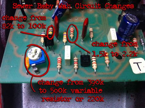 fasel inductor crybaby mod sewer b 230 by part 2 gcb 95 crybaby mods doktor ross sewage