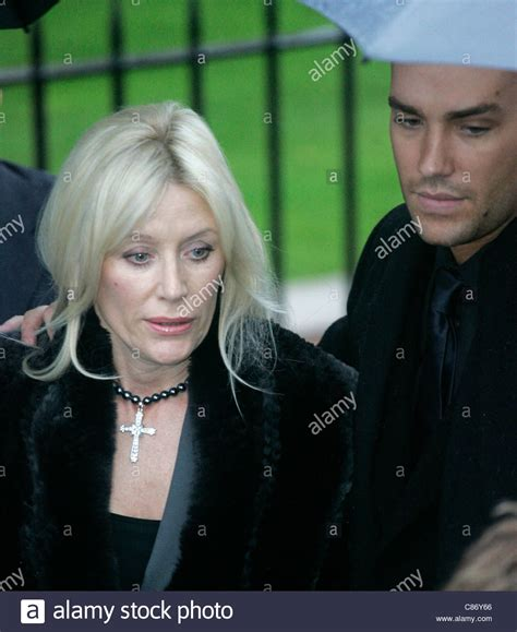 george best funeral calum best with his angie best at george best s