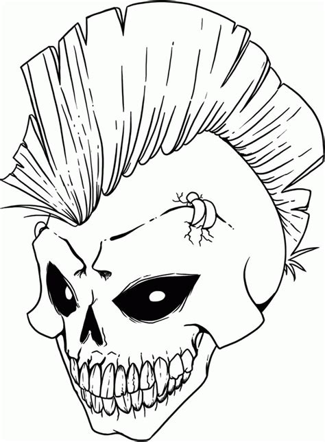 Free Skull Coloring Pages Skull Coloring Page Only Coloring Pages by Free Skull Coloring Pages