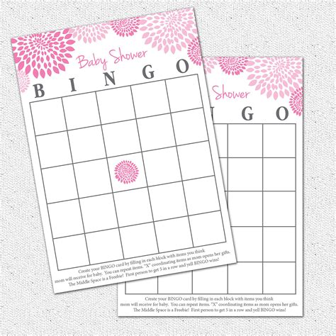 Baby Shower Bingo Card Templates Free by 9 Best Images Of Free Printable Baby Bingo Template Free