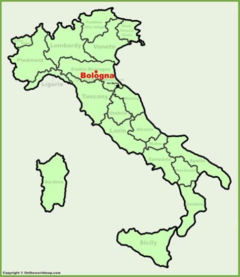 map of italy bologna bologna maps italy maps of bologna