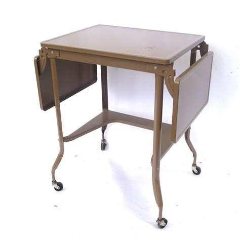 Typing Table by Typewriter Table Gray