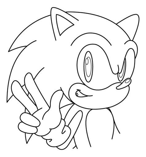 Sonic Coloring Page sonic coloring pages 2 coloring pages to print