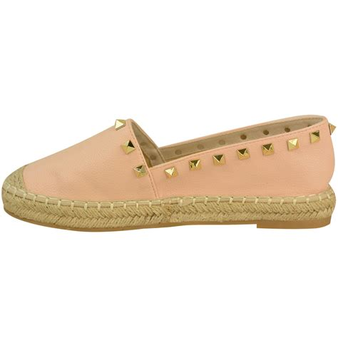 summer shoes flats womens studded espadrilles slip on flats summer