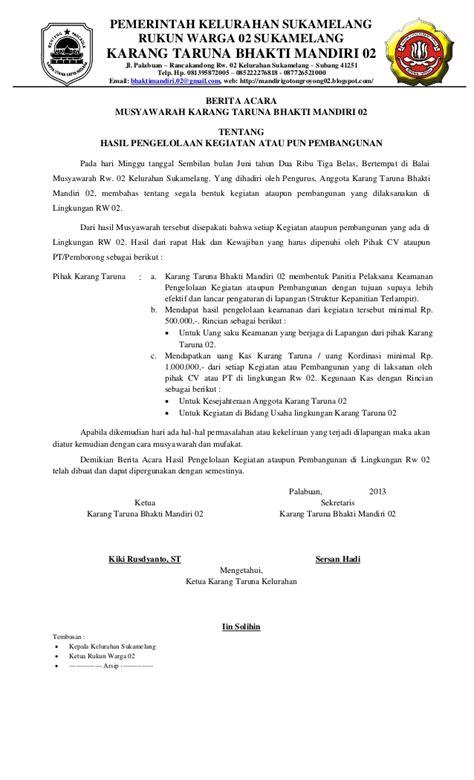 format berita acara pembayaran pengadaan barang dan jasa berita acara pembuangan tanah