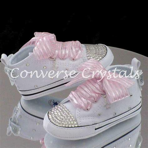 2017 Intense Baby Crib Custom Crystal Bling Converse Baby Crib Converse