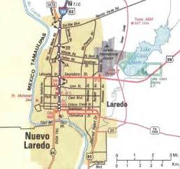 where is laredo on the map downtown laredo map laredo mappery