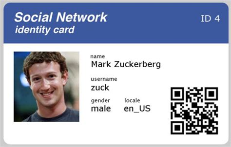 government id card design hacking unlock your facebook account