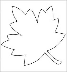 printable leaf template printable template 2017