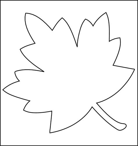 printable fall leaf shapes leaf template printable leaf templates free premium