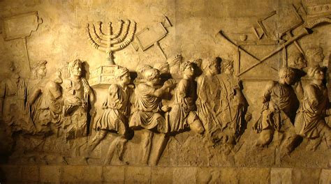 file arch of titus menorah png wikipedia