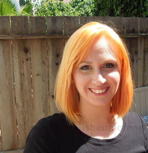 ash blonde over light orange hair image gallery orange hair after bleaching