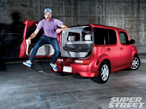 nissan box nissan cube new compact car super street magazine