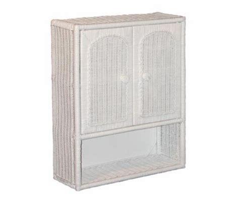 medicine cabinet with wicker baskets bmc26 bathroom wicker medicine cabinet