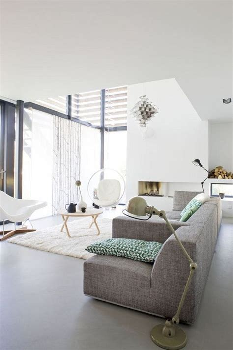 White And Grey Interior by Grey And White Interior Design