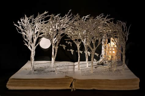 Cool Artist Su Blackwell by Book Su Blackwell S Book Sculptures Endpaper The