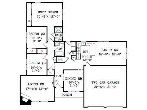 ranch house remodel floor plans house style and plans