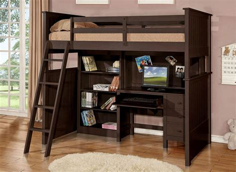 loft bed with storage and desk size loft bed with desk and storage 28 images