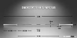 How Much Does A Olympic Bench Bar Weigh Olympic Bar Dimensions Weight Of An Olympic Bar