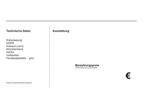 Vorlage Word Preisschild Autofreund24 De Vorlagen F 252 R Den Autohandel