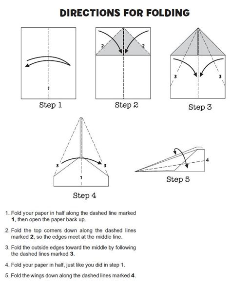 Folding Paper Airplanes Step By Step - 18 best images about for cole on combustion