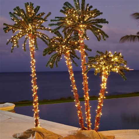 lighted palm tree pre lit artificial palm trees top foot lighted palm tree with pre lit artificial palm trees