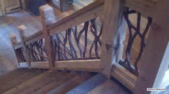 Wood Banisters For Stairs Grand Entry Railing Artistic Handrails On Balcony And Stairs