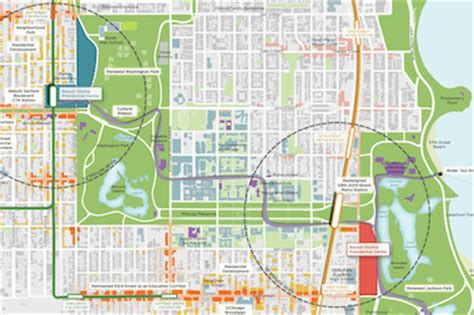 jackson park chicago map nearly 40 local groups pledge support for obama library