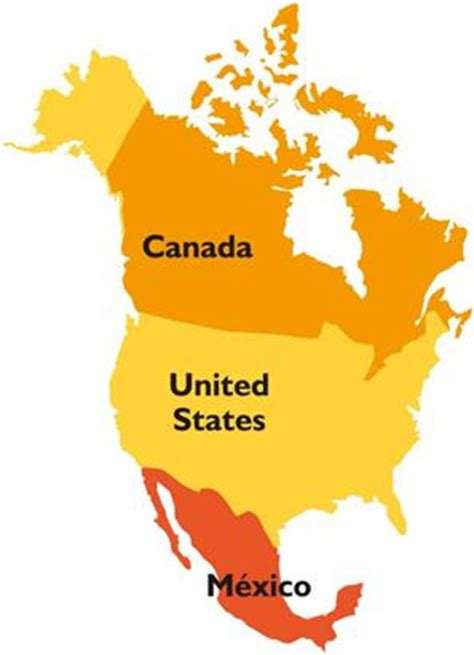 map of us canada and mexico america toobin 5050