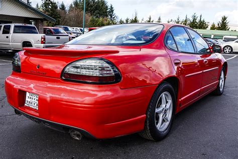 1999 Pontiac Grand Prix Gt Mpg by 2000 Pontiac Grand Prix