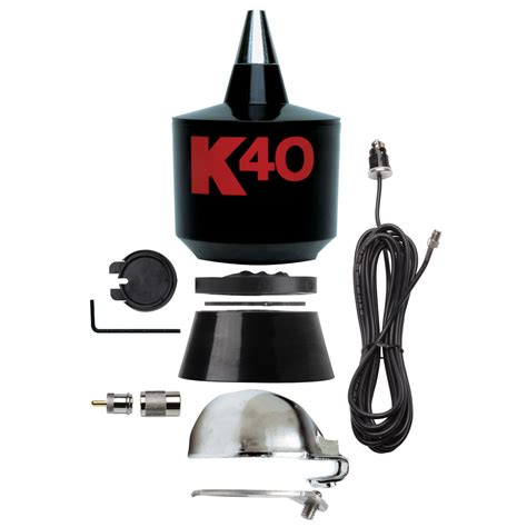 k40 antennas accessories replacement cb antenna kit for k40 black does not include whip