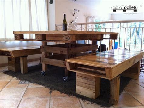Pallet Wood Dining Table Dining Table Out Of Pallets Wood Pallet Ideas Recycled Upcycled Pallets Furniture Projects