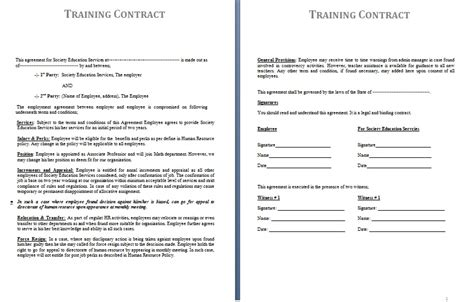 agreement template contracts contract templates