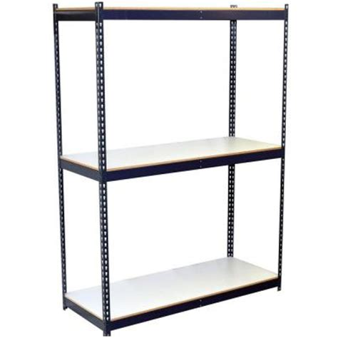 storage concepts 3 shelf bulk storage steel boltless