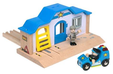 brio police station brio 33590 wooden railway system police station building