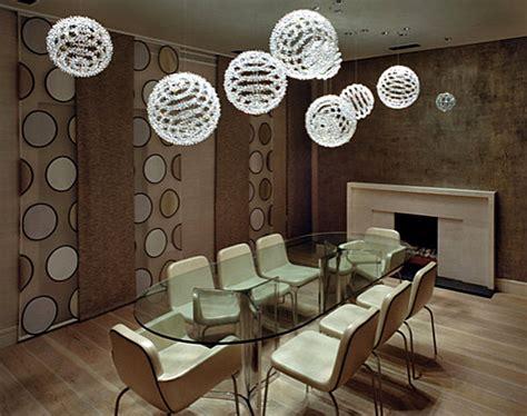 ultra modern dining room lighting ideas decoist modern dining room with dramatic lighting