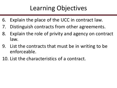 Privity Of Contract Essay by 115 Chap007 Contract Essentials