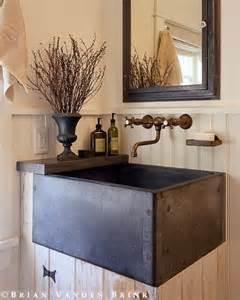 farmhouse style bathroom sink rustic powder farmhouse sink vanity bathrooms
