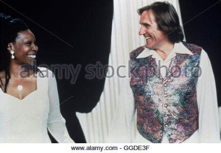 gerard depardieu whoopi goldberg whoopi goldberg gerard depardieu bogus 1996 stock photo