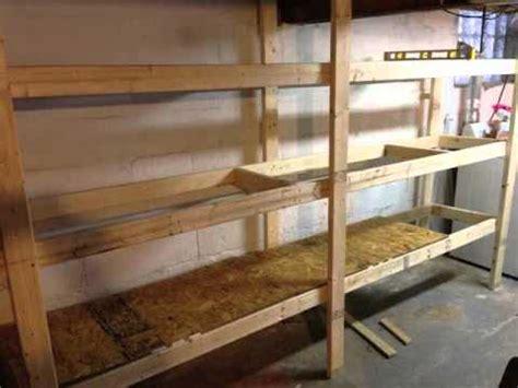 garage shelving ideas youtube