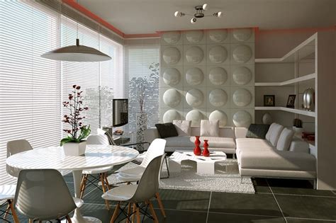Feature Wall Dining Room Ideas by Feature Wall Treatment Interior Design Ideas